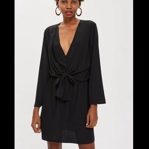 NWT! Topshop Tie front dress, size 4